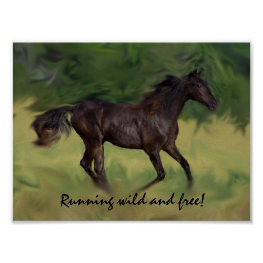 Legend Running WILD and FREE poster