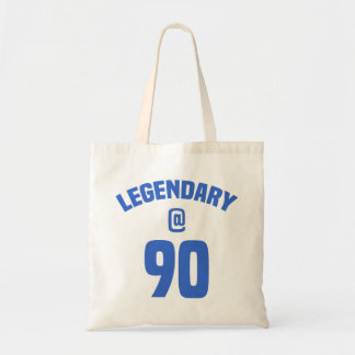Legendary 90th Birthday Tote Bag