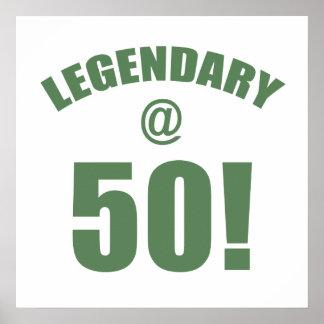 Legendary At 50 Poster