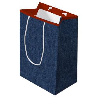 Legendary Blue Jeans Medium Gift Bag