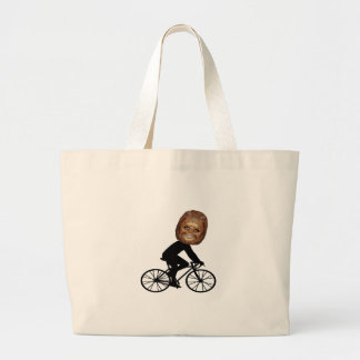 Legendary Cyclist Large Tote Bag