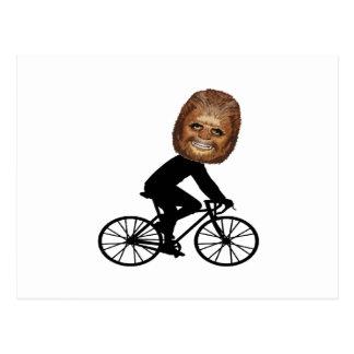 Legendary Cyclist Postcard