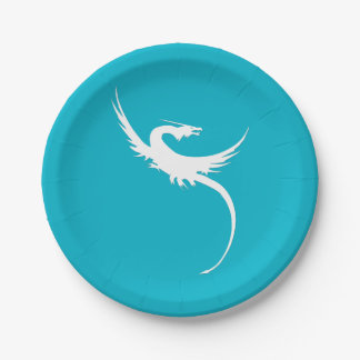 Legendary Dragon Paper Plate