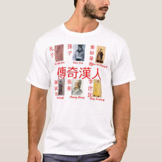 Legendary Han Chinese white shirt