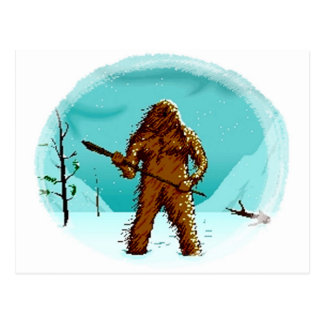 Legendary Yeti Bigfoot Big Foot Gifts Postcard Pcs