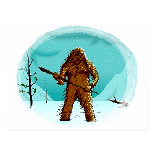 Legendary Yeti Bigfoot Big Foot Gifts Postcard Pcs