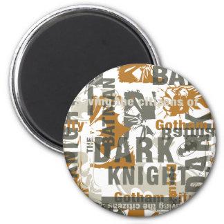 Légendes urbaines de Batman - sauvegarde du texte  Magnet Rond 8 Cm