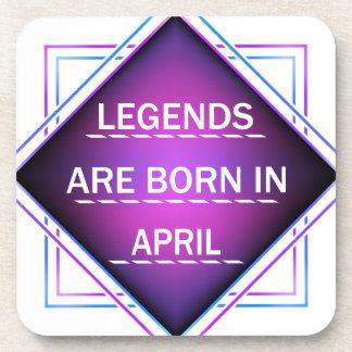 Legends are born in April Coaster