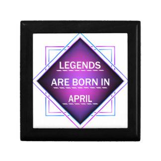 Legends are born in April Gift Box