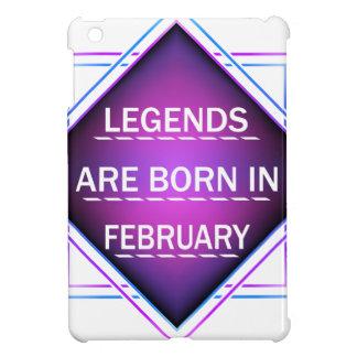 Legends are born in February Case For The iPad Mini
