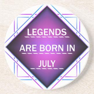 Legends are born in July Coaster
