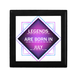Legends are born in July Gift Box