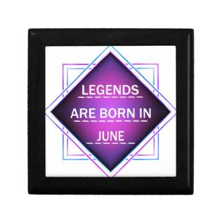 Legends are born in June Gift Box