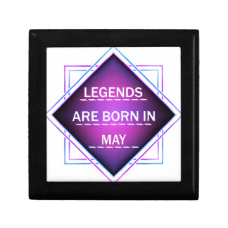 Legends are born in May Gift Box