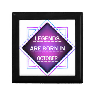 Legends are born in October Gift Box
