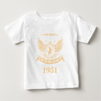 Legends Are Born On February 1952 Baby T-Shirt
