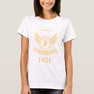 Legends Are Born On February 1952 T-Shirt