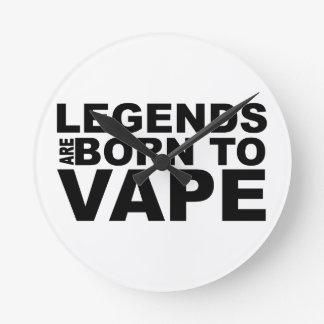LEGENDS OF ACRES FOUNT TON OF VAPE ROUND CLOCK