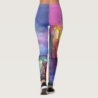 LEGENDS OF MAGIC AND MYSTERY,KNIGHTS OF PENDRAGON LEGGINGS