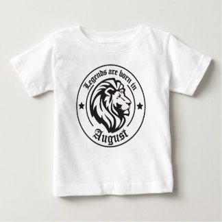 Legends ploughs born in August Baby T-Shirt