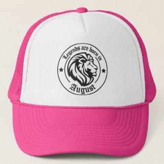 Legends ploughs born in August Trucker Hat