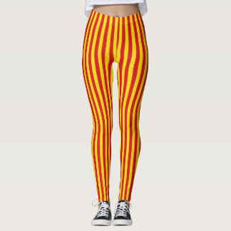 legging Catalan flag