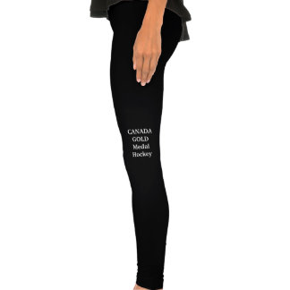 Legging for Women who are proud to be Canadian