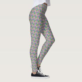 """Legging with """"Circles Pastel"""" design"""