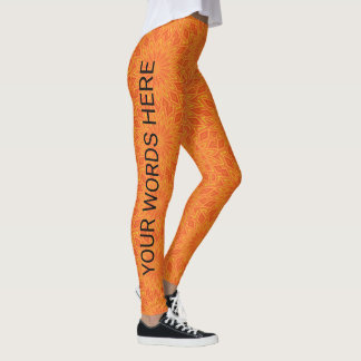 Legging YOU DESIGN add PHOTO & WORDS Personalize