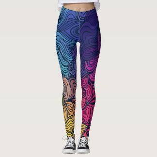 Leggings-abstrac fullcolor leggings