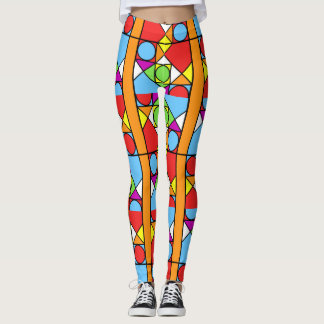 Leggings Abstraction #1