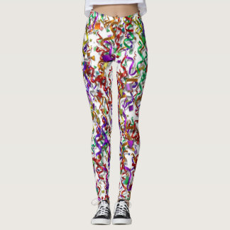 Leggings - All Over - Confetti & Streamers