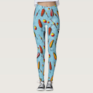 Leggings - All Over - Fishing Bobs & Lures