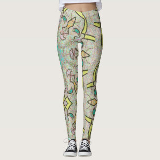 "Leggings ""Angels"" by Mar"