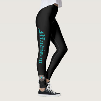Leggings Black YOUR NAME Turquoise Concho S to XL