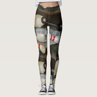 """Leggings  -  Bowling Collection """"Pins 1"""""""
