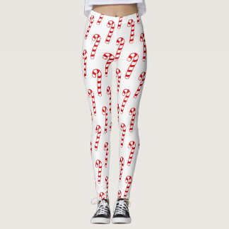 Leggings - Candy Canes