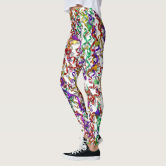 Leggings - Confetti & Streamers