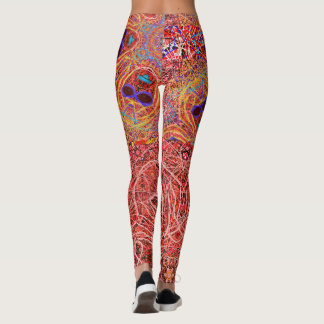 "Leggings ""Corrupted"" by MAR"