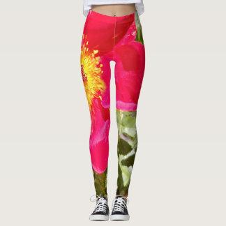 Leggings- Floral Velvet Punch Leggings