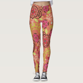 Leggings Flower Power