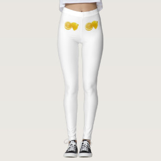 Leggings lemon-yellow collection