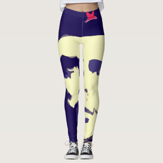 leggings pop art che guevara