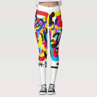 Leggings Uveculus by NYC artist Jacob Keum