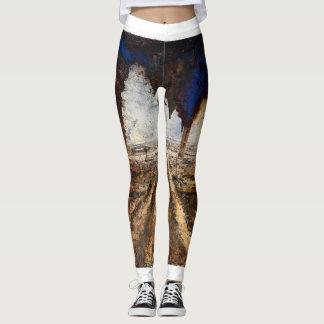 Leggings Yoga Pants Paints Aaron Vega Designs