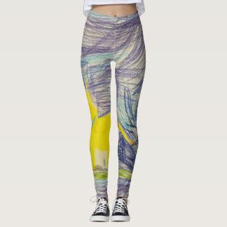 Leggins, fun, sports leggings