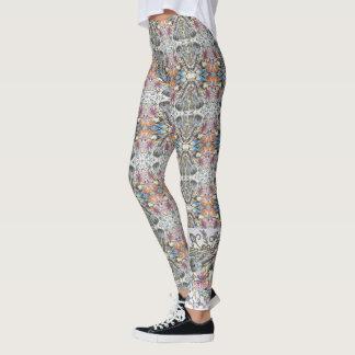 leggins printed with violin. leggings