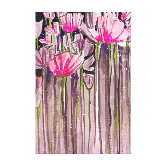 Leggy Blooms Canvas Print