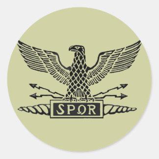 Legion Eagle Round Sticker