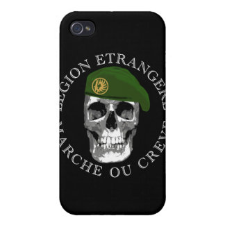 Legion Etrangere Skull iPhone Case Cases For iPhone 4